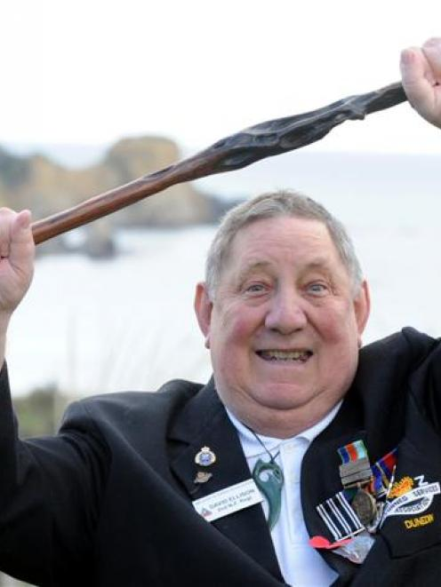 Veteran David Ellison has not only organised a ceremony to present defence service medals, he has...
