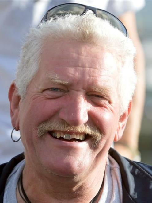 Veteran protester Henk Haazen.
