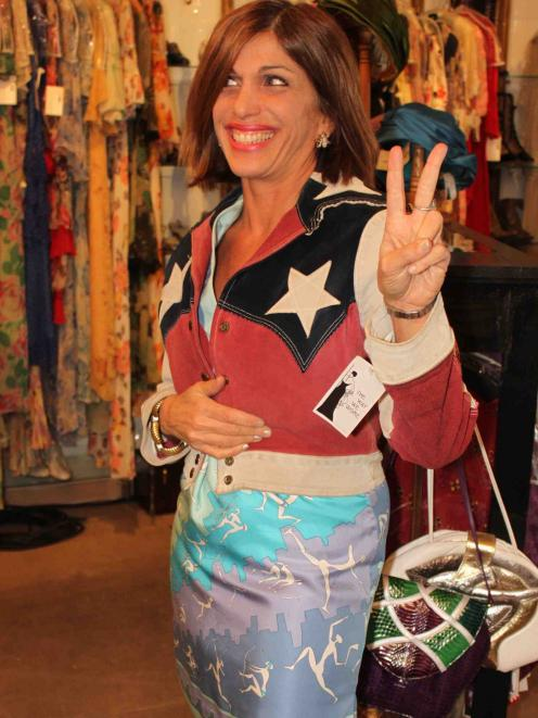 Vintage frock guru . . . Founder and owner of Los Angeles vintage clothing store The Way We Wore,...
