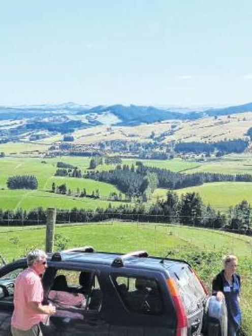 Visitors to the New Zealand Deer Farmers' Association Otago branch's recent field day at...