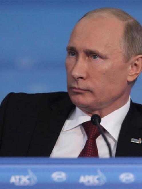 Vladimir Putin. Photo Reuters