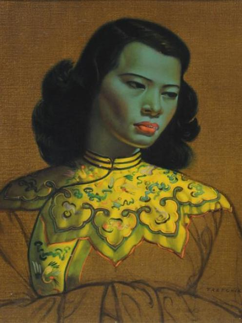 Vladimir Tretchikoff's Green Lady.