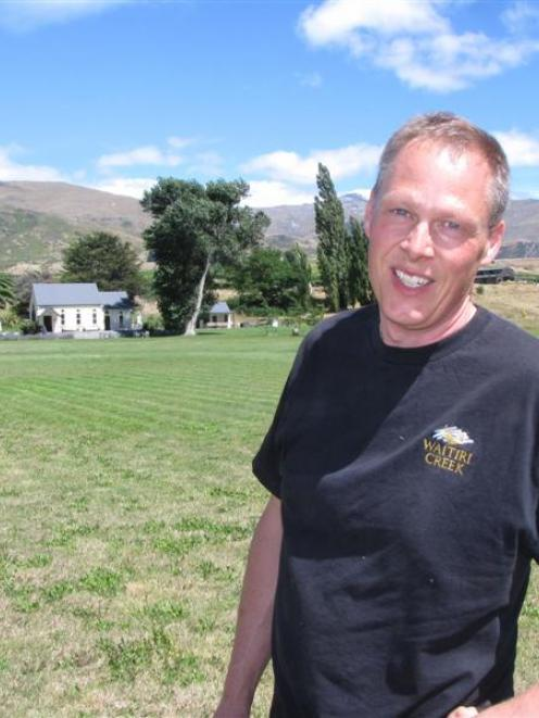 Waitiri Creek Winery manager Jason Moss predicts tomorrow's Classic Hits Winery Tour, being held...