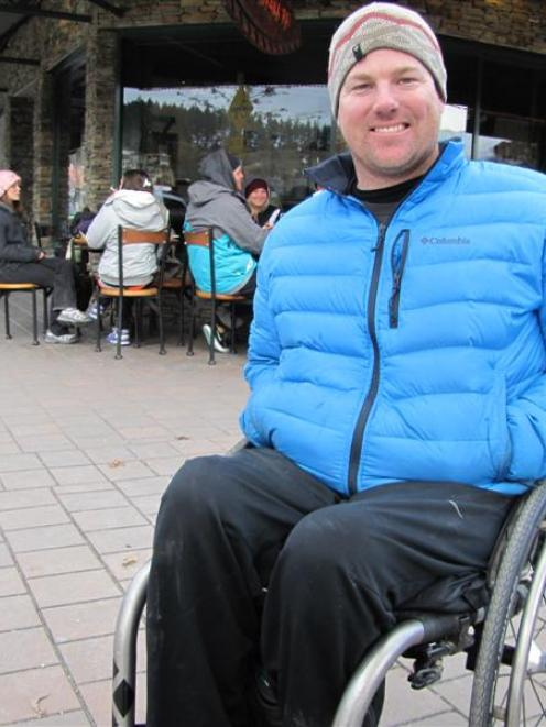 Wanaka adaptive alpine skier Quentin Smith is competing in the Winter Games next week. Photo by...