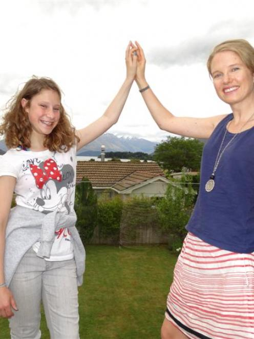 Wanaka-based Young Stroke Thrivers Foundation founder Maria Fredatovich (right, 32) and...