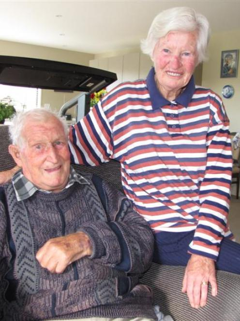 Wanaka couple Bruce and Mary King (both 82) met at a ball as teenagers and today celebrate 60...
