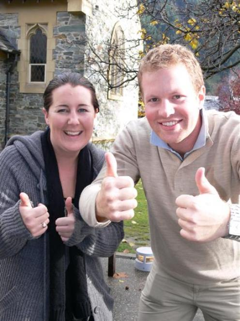 Wanaka couple Kim Marshall and Hamish Ludbrook are asking for Queenstown's support in their bid...