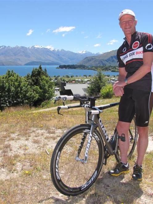 Wanaka GP Andrew McLeod  hopes to complete a double-length Challenge Wanaka long-distance...