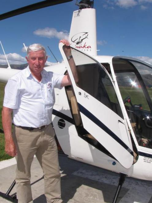 Wanaka Helicopters owner Simon Spencer-Bower, regarded as the most experienced Robinson R22 pilot...