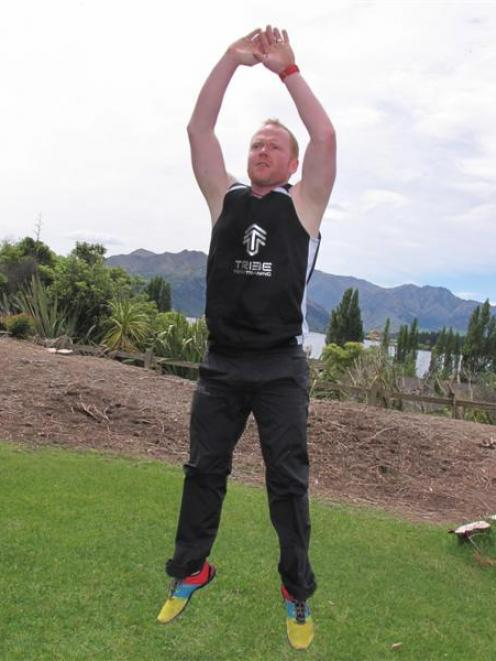 Wanaka personal trainer Toby Donnelly has already completed a fundraising challenge to do 5000...