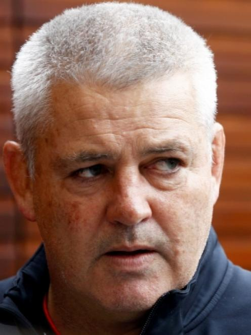 Warren Gatland has plenty to ponder as his Welsh side prepares to take on the All Blacks. Photo...