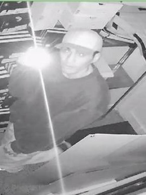Whakatane police have released CCTV footage showing a male inside the Stirling Sports shop at...