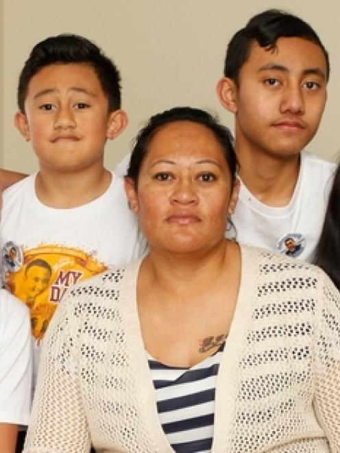 Widow Cally Ruahe and family travelled to Tonga to see two local police officers sentenced for...
