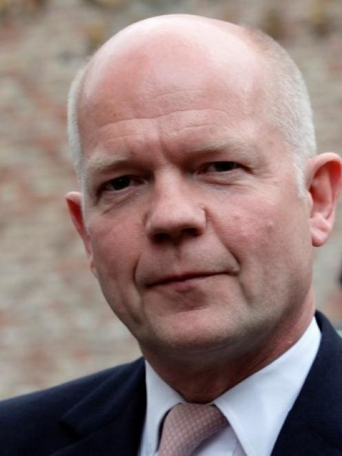 William Hague. Photo Reuters