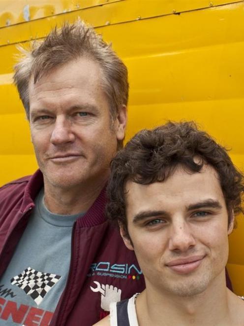 William McInnes (left) and Josh McKenzie star in the film.