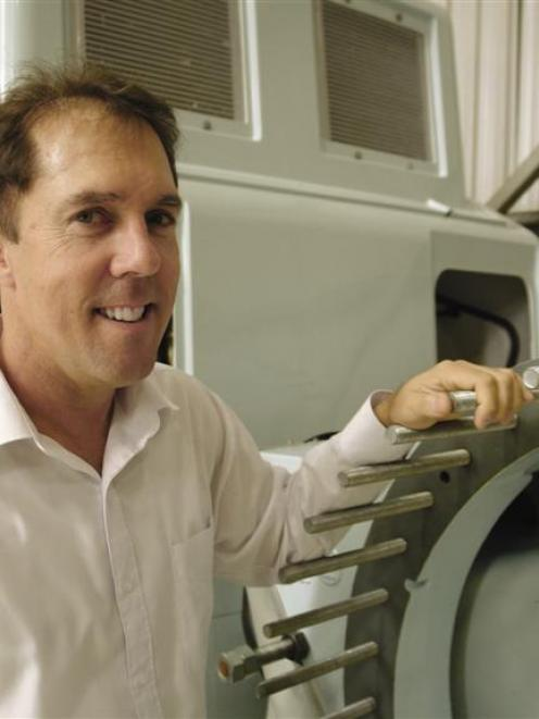 Windflow Technology chief executive Geoff Henderson. Photos supplied.