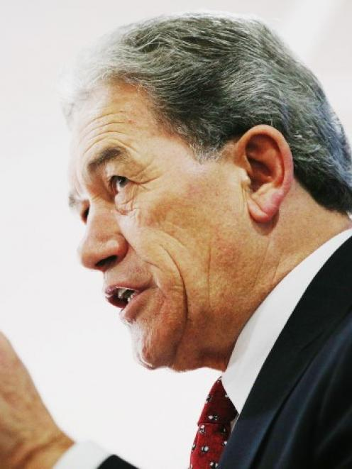 Winston Peters: 'How many times do you have to have that repeated to know that those denials are...