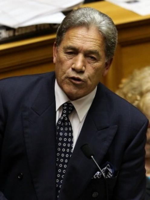 Winston Peters. Photo by Getty
