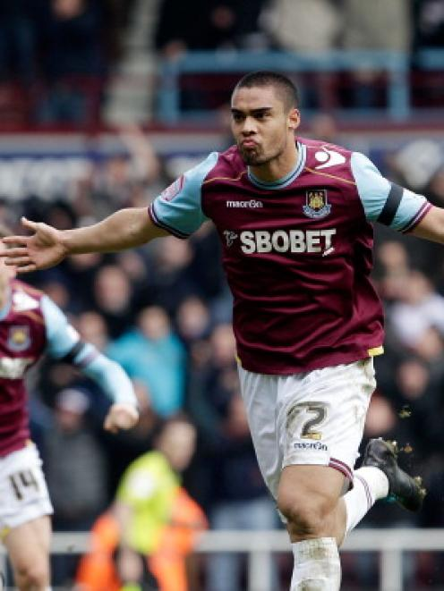 Winston Reid has signed a two-year extension with West Ham United. Photo Getty