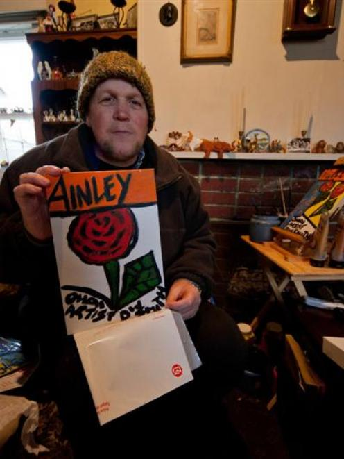 Without his artistic outlet, sexual abuse survivor Daryl Smith, of Invercargill, believes he...