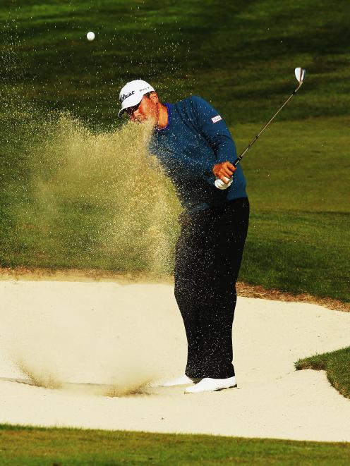 Golf: Little change in Open leaderboard   Otago Daily Times