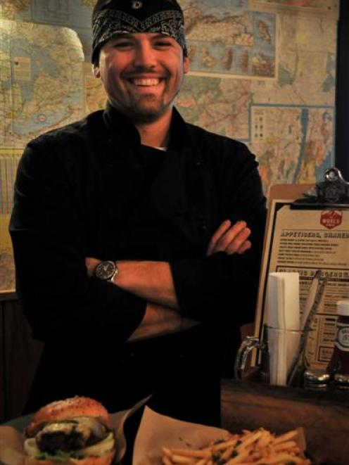 World Bar head chef Dustin Sergenian. Photo supplied.