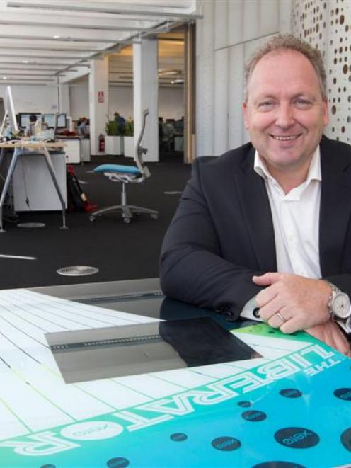 Xero founder and chief executive Rod Drury says the company is only getting started. Photo by The...