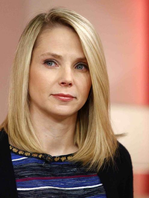 "Yahoo Chief Executive Marissa Mayer appears on NBC News' ""Today"" show in New York.  REUTERS/Peter..."