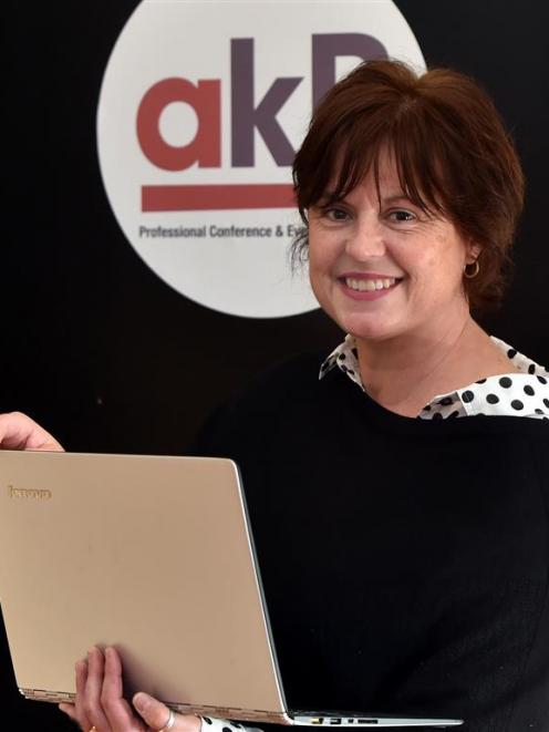 Ali Copeman now has gig-speed internet in her central Dunedin office, following a delay in...