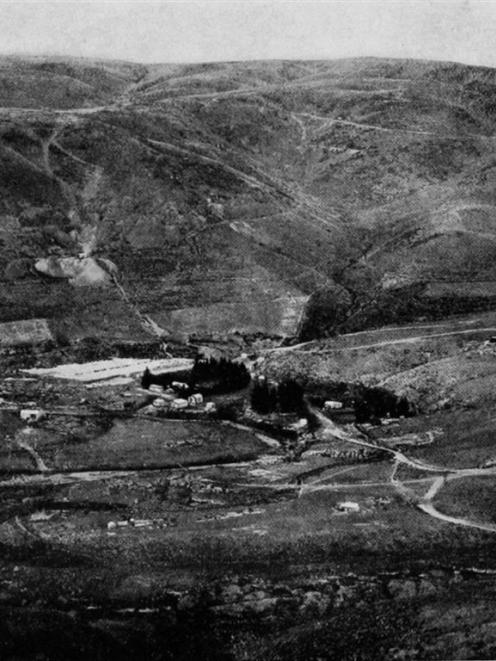 Golden Point, Macraes, Otago, where scheelite, the valuable mineral in demand for munitions...