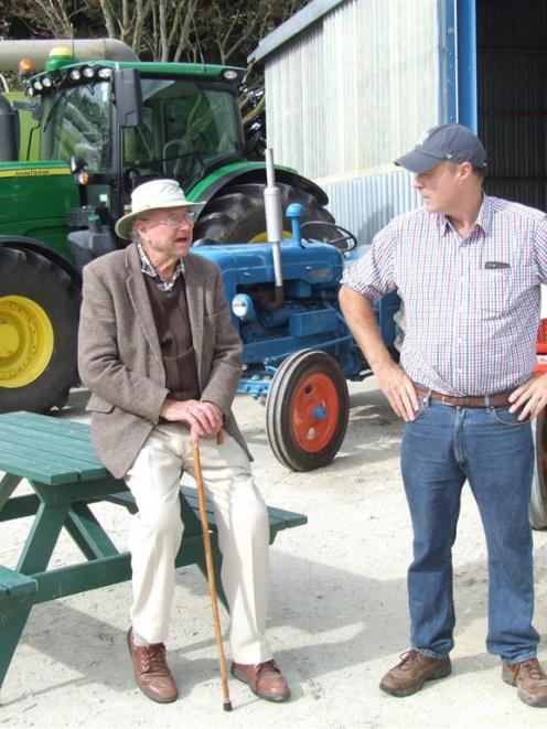 Hilderthorpe farmers Jim (left) and Chris Dennison reflect on changes to their family's farming...