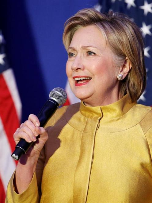 "Hillary Clinton as president ""will not rock the boat"", Gwynne Dyer writes. Photo by Reuters."