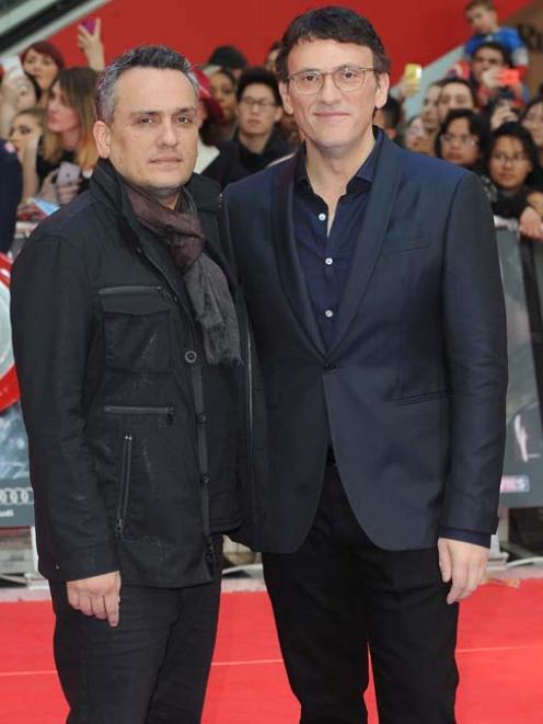 Joe and Anthony Russo. Photo: Bang Showbiz