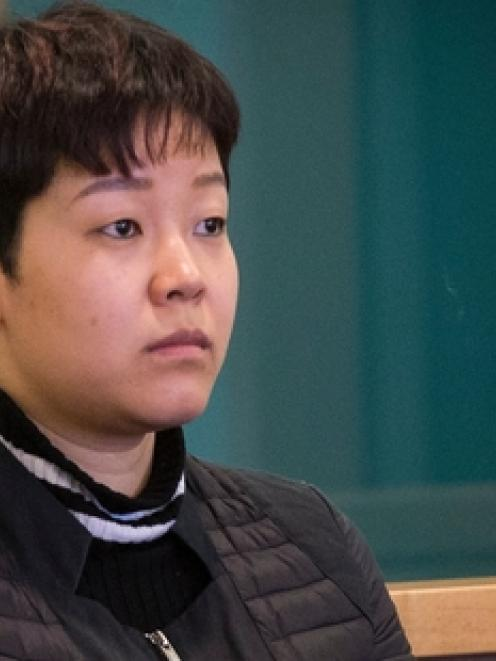 Yixin Gan now awaits the date for a new trial. Photo: NZ Herald