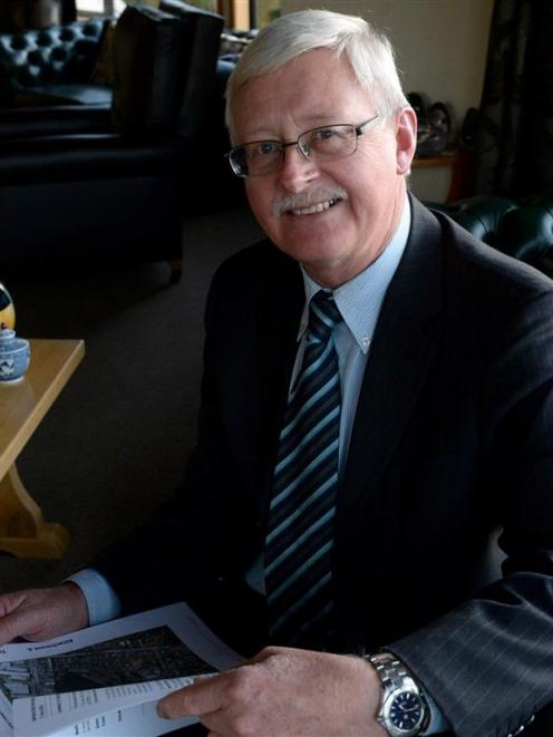 Deputy Mayor Chris Staynes' cancer is under control, and his sights are set on another three...