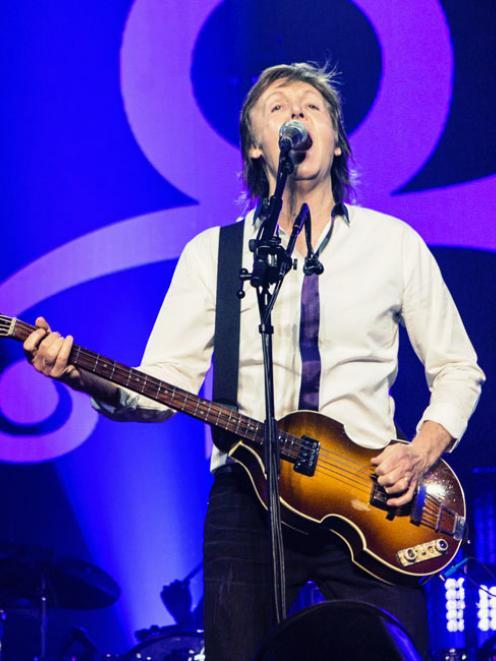 Paul McCartney. Photo: Bang Showbiz