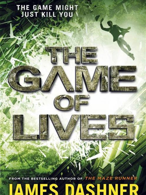 THE GAME OF LIVES<br><b>James Dashner</b><br><i>Penguin Random House</i>