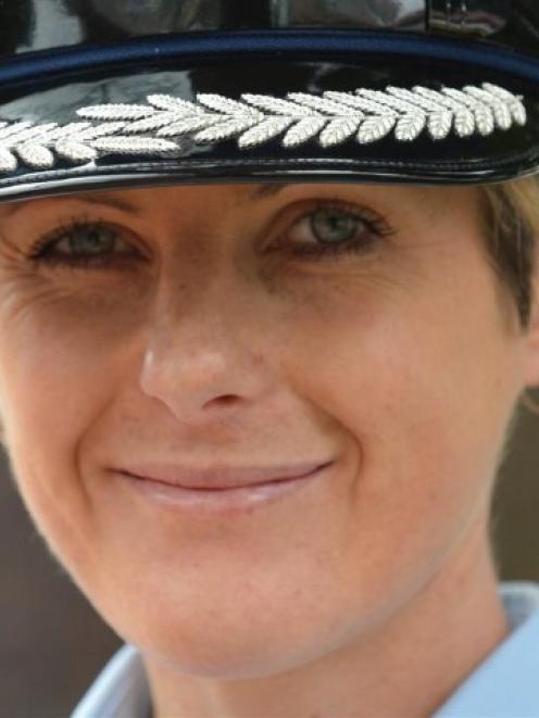 Inspector Mel Aitken