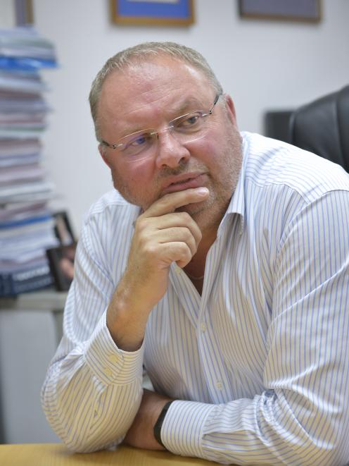 DCHL chairman Graham Crombie ... state of the network definitely ''a problem''. Photo: Gerard O...