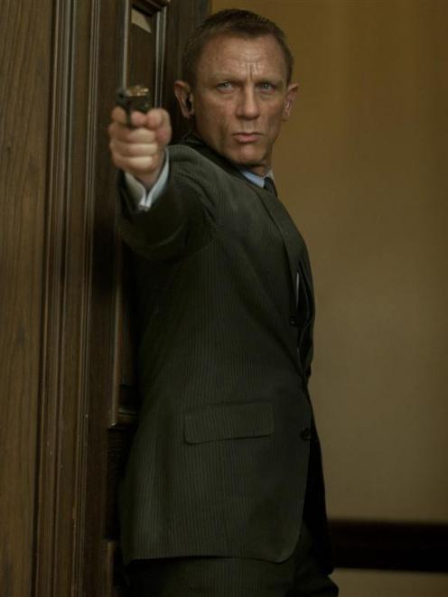 Daniel Craig stars as James Bond in Skyfall, the 23rd Bond film. Photo from MCT.