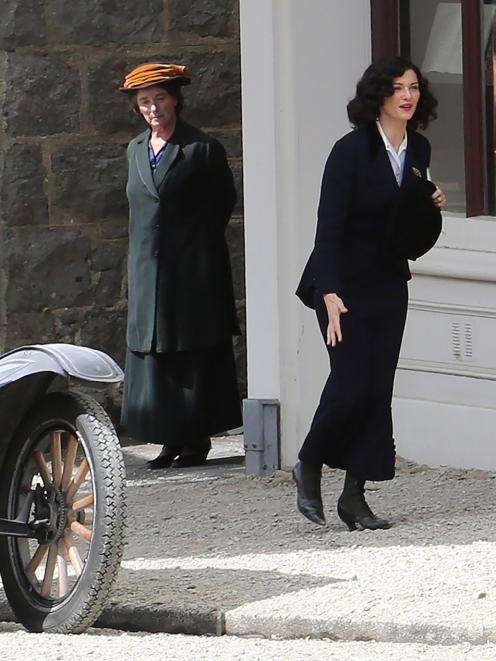 Rachel Weisz stars alongside Port Chalmers in The Light Between Oceans. Photo: Craig Baxter.