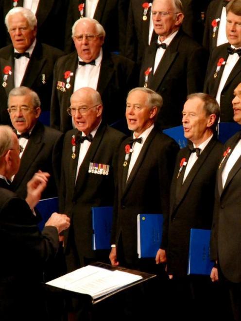 The RSA Choir.