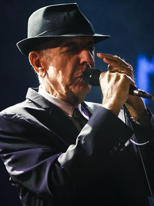 Leonard Cohen. Photos: Reuters.