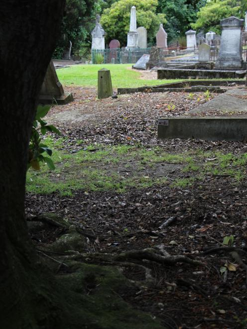 Charles Clark's grave in Dunedin's Southern Cemetery lacks paving, rail or even a headstone to...