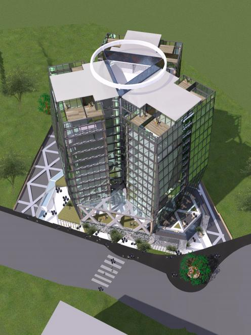 The changes would also ensure more rooms enjoyed a five-star view of the city as well as making the building more accessible for residents he said. & Revised design for hotel | Otago Daily Times Online News