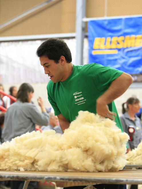 woolhandler Joel Henare will represent New Zealand at the World Shearing and Woolhandling...