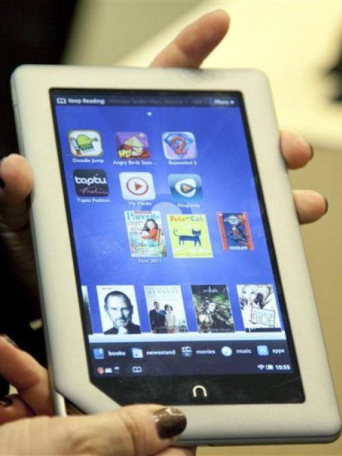 The Barnes & Noble Nook Tablet.
