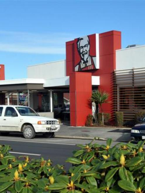 KFC stores will receive significant capital investment in the new financial year. Photo by Gregor...