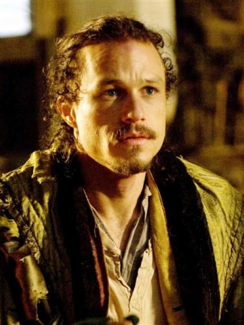 Heath Ledger in 'The Imaginarium of Doctor Parnassus'.