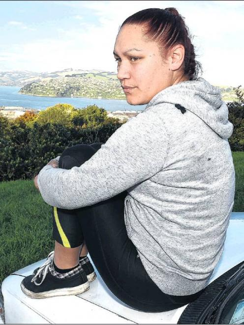 Finding a home has proved a struggle for Dunedin mother of three Ki'anie Pikia. PHOTO: GREGOR...
